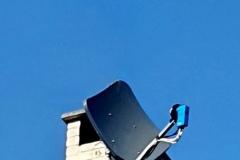 Pose-parabole-satellite