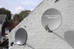 ADSL Par satellite maison
