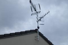 Antenne TV tri nappe installée
