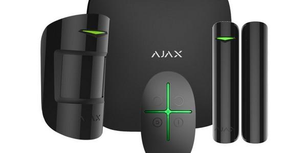 Pose d'alarmes sans fil AJAX
