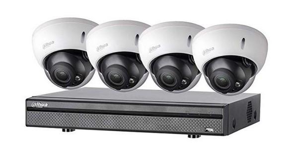 Installation de vidéo surveillance